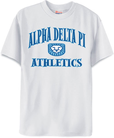 Alpha Delta Pi Athletics Shirt