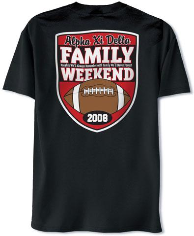 Alpha Xi Delta Family Weekend T-Shirt