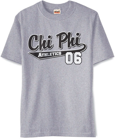 Chi Phi Athletics Shirt