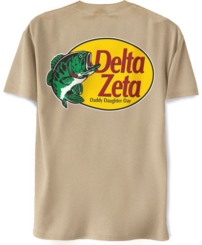 Delta Zeta Daddy Daughter Day Shirt