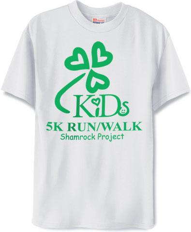 5K Shamrock Shirt