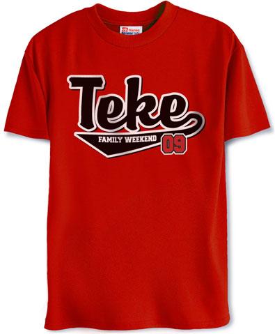 Teke Family Weekend Shirt