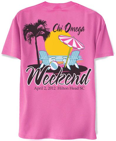 Chi Omega T-shirt