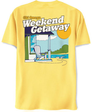 Chi Omega Weekend T-Shirt