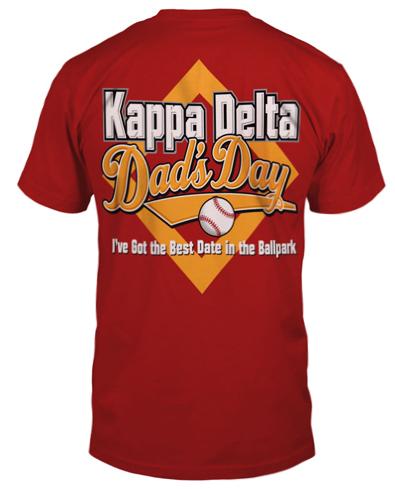 Kappa Delta Dad's Day Shirt