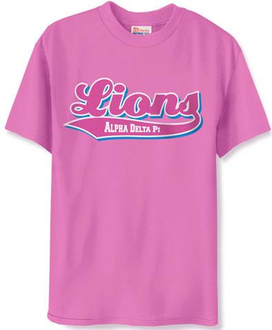 Alpha Delta Pi Lions Shirt