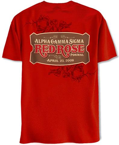 Alpha Gamma Sigma Red Rose Formal