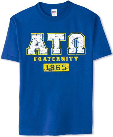 Alpha Tau Omega Athletics Shirt