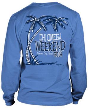 Chi Omega Beach T-Shirt