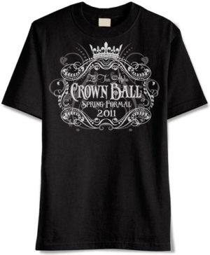 Crown Ball Formal T-shirt