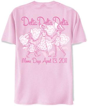 Delta Delta Delta Mom's Day