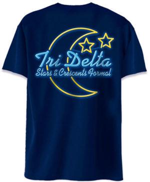 Delta Delta Delta Stars & Crescent Formal