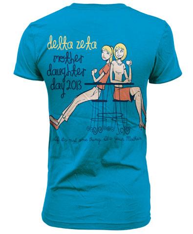 Delta Zeta Mother Daughter Day