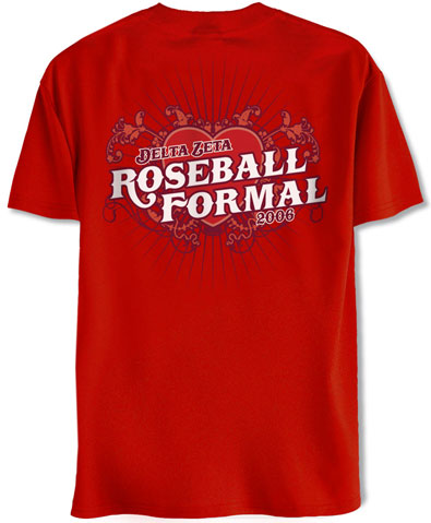 Delta Zeta Roseball Formal