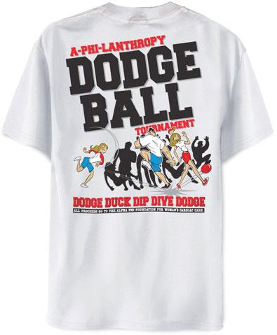 Dodgeball Tournament T-Shirt