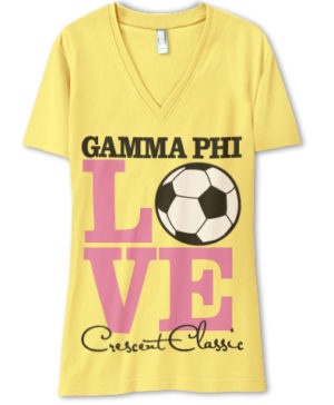 Gamma Phi Soccer T-Shirt