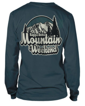 Kappa Delta Mountain Weekend Tee