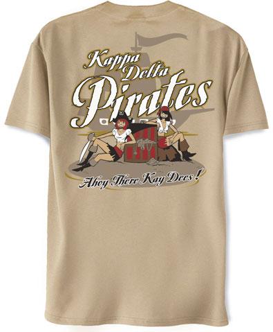 Kappa Delta Pirates T-Shirt