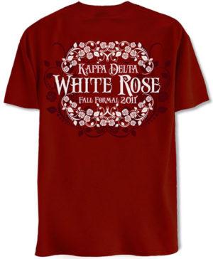 Kappa Delta White Rose Fall Formal