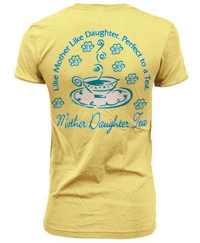 Mother Daughter Tea T-shirt