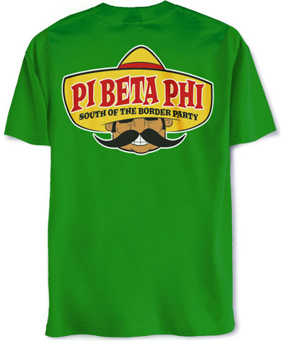 Pi Beta Phi Mexican T-Shirt