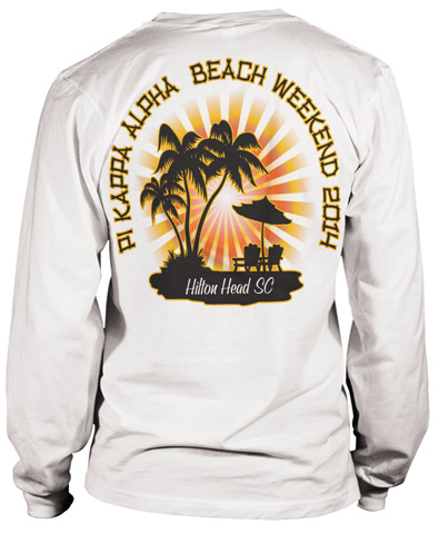 Pi Kappa Alpha Weekend T-Shirt