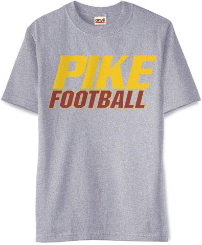 Pike Football T-Shirt