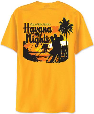 Sigma Alpha Epsilon Havana Nights