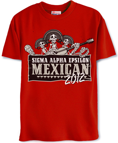 Sigma Alpha Epsilon Mexican Theme