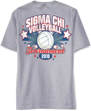 Sigma Chi Volleyball Shirt