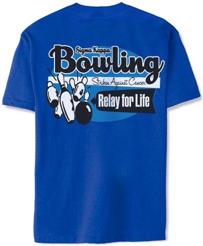 Sigma Kappa Bowling T-Shirt