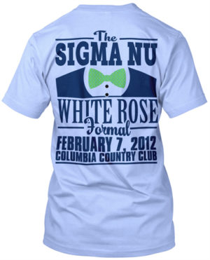 Sigma Nu White Rose Formal
