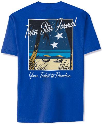 Twin Star Formal T-shirt