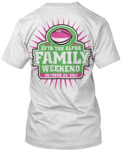 Zeta Tau Alpha Family Weekend
