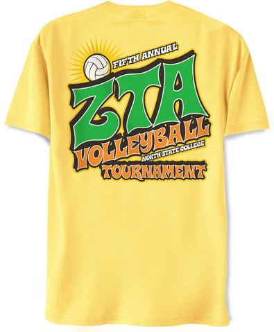 Zeta Tau Alpha Volleyball