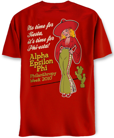 Alpha Epsilon Phi Mexican Theme