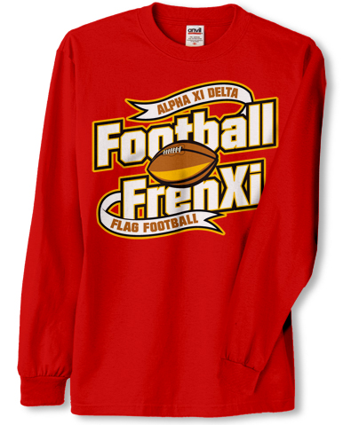 Alpha Xi Delta Football Shirt