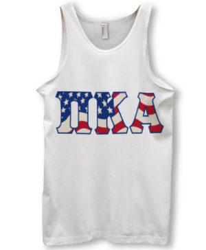 Pi Kappa Alpha Flag Tanktop