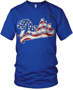 Delts Flag Shirt