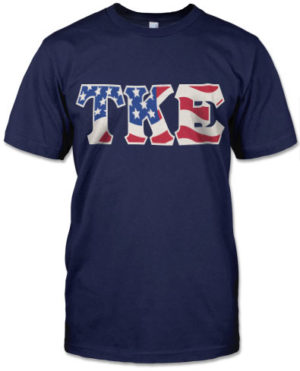 TKE Flag Shirt