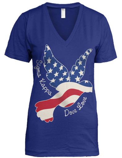 Sigma Kappa Dove T-Shirt