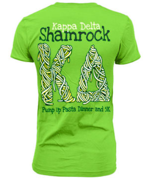 71e884a33 Order Shamrock T-shirts for your Kappa Delta chapter