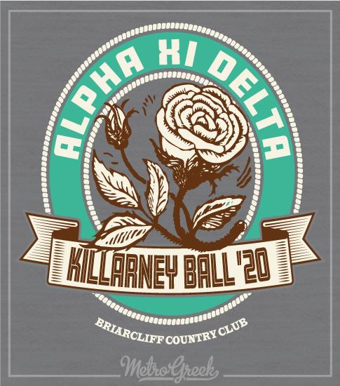 Alpha Xi Delta Killarney Ball Shirt