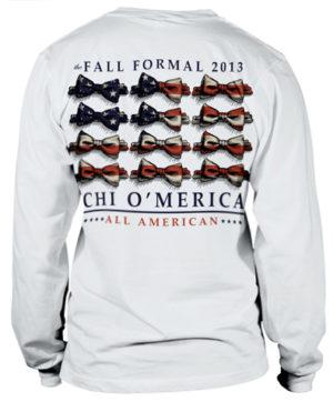 Chi Omega Formal T-Shirt