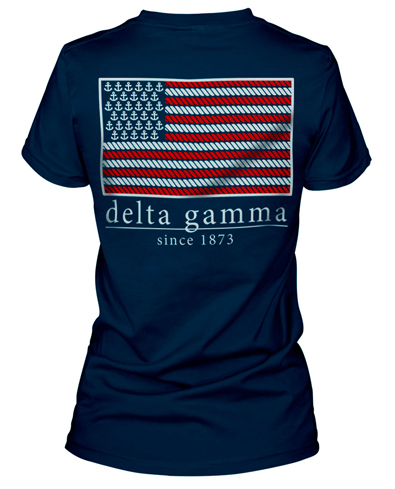 Delta Gamma Flag Shirt