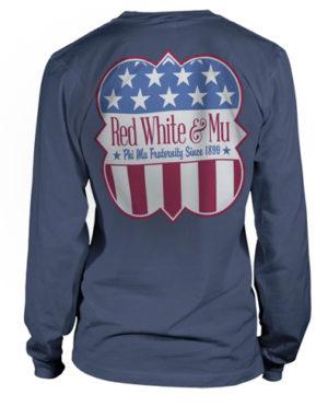 Phi Mu Patriotic Shirt