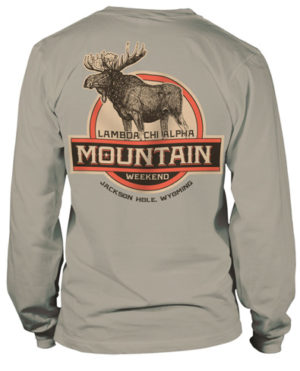 Lambda Chi Alpha Mountain Weekend T-Shirt