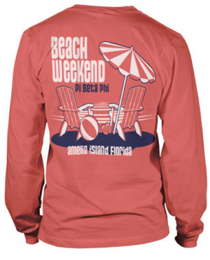 Pi Beta Phi Beach T-Shirt