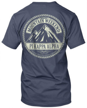 Pi Kappa Alpha Mountain T-Shirt