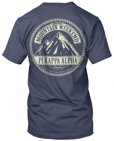 Pi Kappa Alpha Mountain T-Shirt